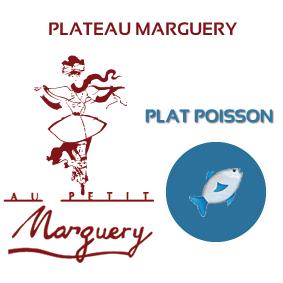 Plateau Marguery froid, option poisson