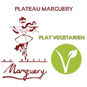 Plateau Marguery froid, option plat végétarien