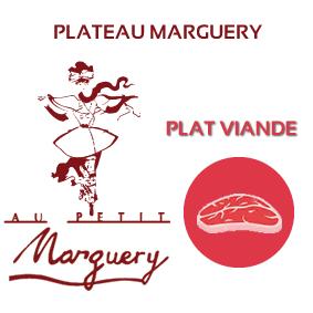 Plateau Marguery froid, option viande