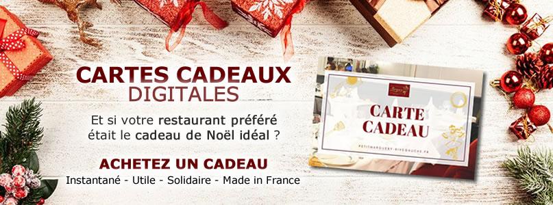 Carte cadeau - Petit Marguery Rive Gauche